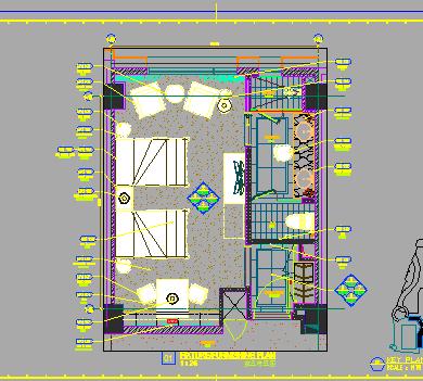 某广场样板房装修设计图纸