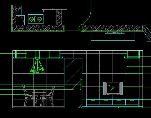 某住宅楼立面装修设计图
