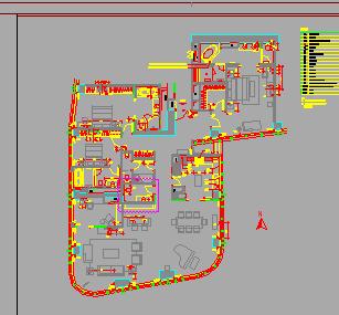 公寓装修设计图纸