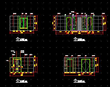 某酒楼建筑装修图纸(含效果图)