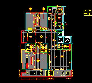 大型公寓装修设计图纸