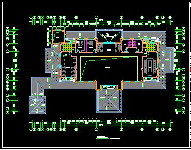 两层办公楼装修设计图
