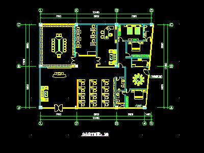 办公室空间装修设计图