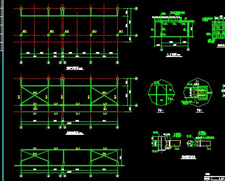 灯饰广场加建钢结构工程施工图纸