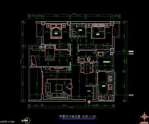 520平方米三层欧式别墅装修设计图