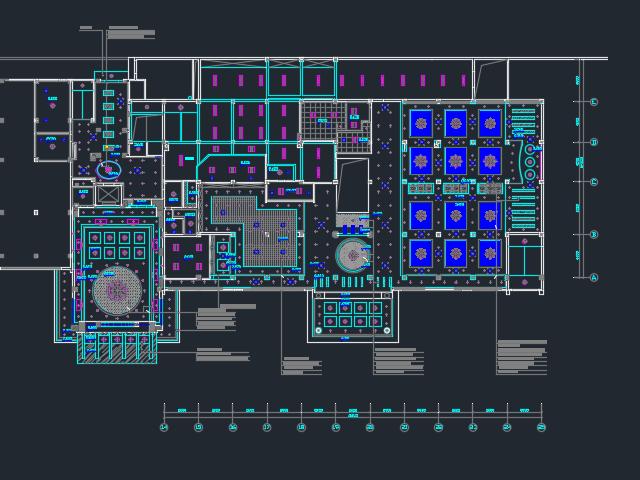 某六层酒店装修设计图
