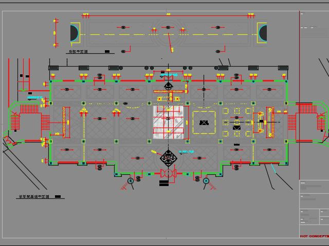 某会所装饰装修施工图(含实景图)
