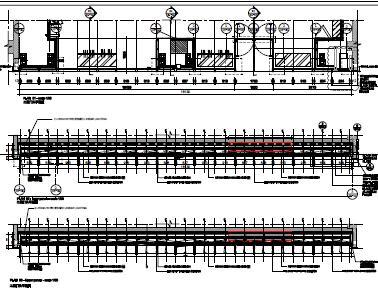 某国外购物中心幕墙施工节点详图