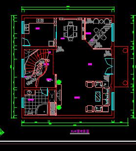 别墅建筑装修工程施工图