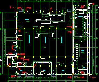 集中供热站建筑装修设计图