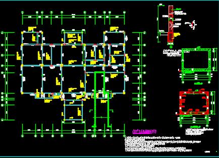 会所结构施工图纸
