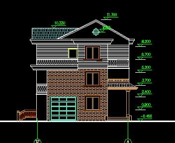 三层农村住宅建筑设计图纸