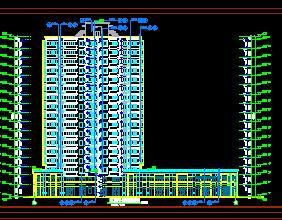 17层住宅楼建筑施工图纸