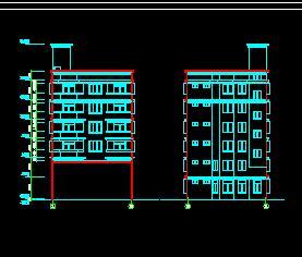 6层框架结构住宅楼建筑施工图纸