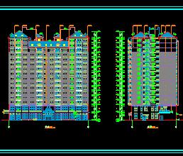 某十六层住宅楼建筑施工图纸