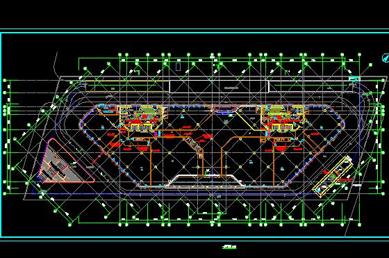 住宅及配套商业项目电气机电设备施工图(含水电暖)