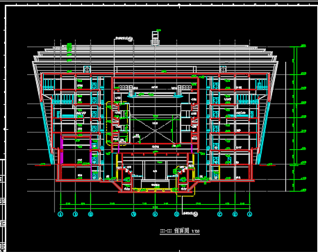 大剧院全套施工图纸(含建筑结构、水电暖)