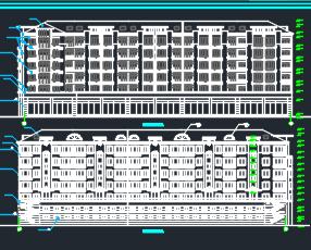 七层住宅楼建筑施工图纸
