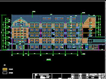 某六层教学楼建筑设计图纸