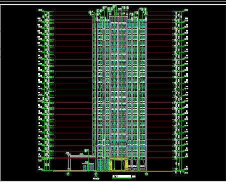 带夹层会所建筑施工图纸
