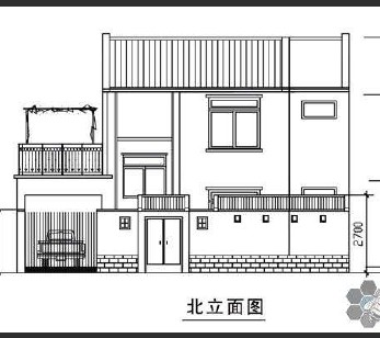 农村自建房设计图纸免费下载 - 建筑户型平面图