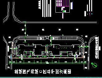住宅区管线综合设计图