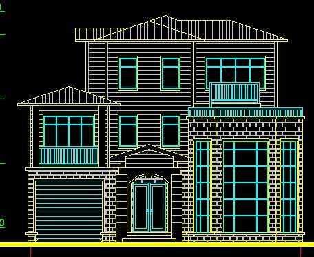 别墅设计图