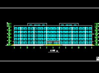 某专修学院建筑群全套施工图