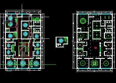 餐厅装修设计图