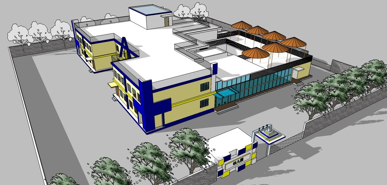 幼儿园建筑设计图
