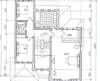 10套别墅平面图加效果图