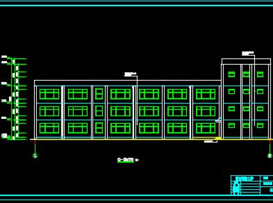 六层框架办公楼毕业设计(含计算书、图纸)