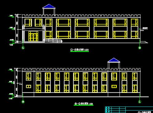幼儿园建筑结构施工图纸