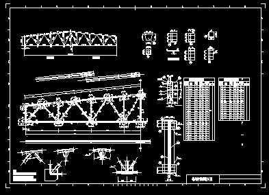 天津21米梯形钢屋架结构