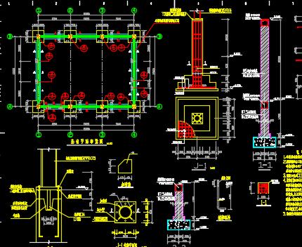 单层钢结构厂房施工图纸