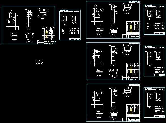 吊车梁车档施工财神免费下载-玉雕施工图纸图纸结构图片