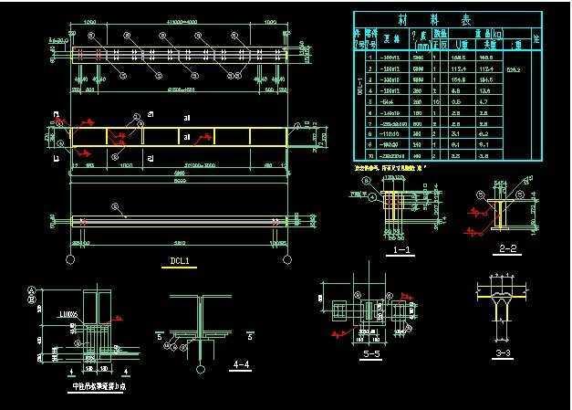 简单的钢结构厂房图纸