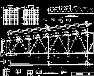 24m钢结构厂房屋盖设计图