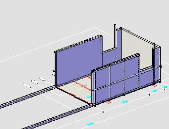 卸料平台设计图