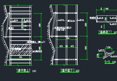钢结构玻璃栈道施工图纸