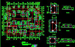 二层框架结构别墅施工图纸