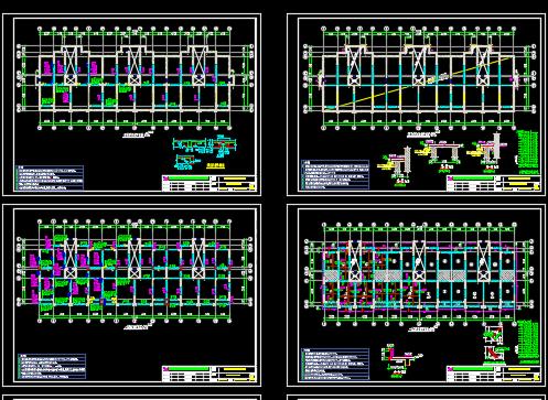小高层住宅楼结构施工图纸