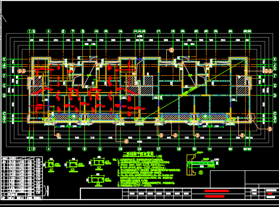 8层住宅楼结构施工图纸