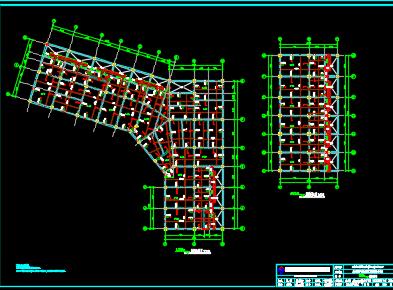 商业楼结构施工图纸