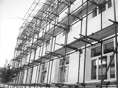 19层办公楼salon365沙龙365现场脚手架施工方案