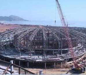 某体育场钢结构澳门新濠天地施工组织设计