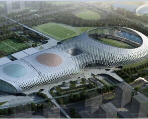 体育中心钢结构工程施工组织设计