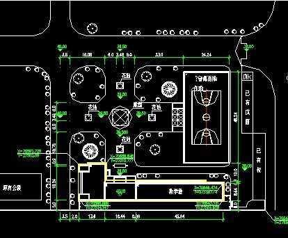 某中学教学楼设计图纸免费下载 - 建筑户型平面图