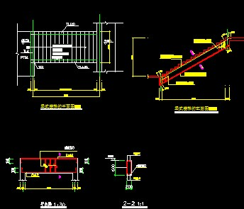 梁式楼梯设计图