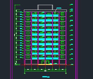 11层框剪豪华公寓毕业设计(含计算书、建筑、结构图)